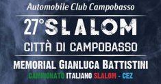Il 18 e 19 Maggio la 27ª edizione dello Slalom Città di Campobasso – Memorial Gianluca Battistini