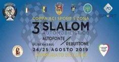 Tutto pronto al 3° Slalom Automobilistico Altofonte/Rebuttone