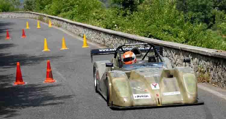 La Scuderia Vesuvio al Maxislalom di Roccadaspide in 14
